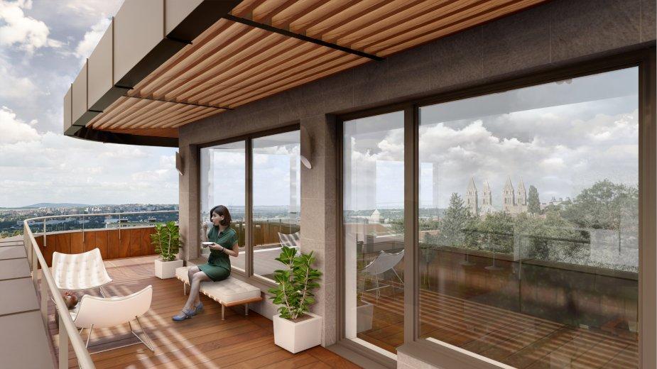Penthouse terasz